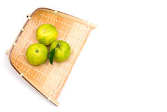 Small citron on the sieve Stock Photography