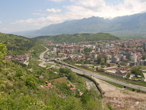 Small city. In Bulgaria called Dupnitsa Stock Images