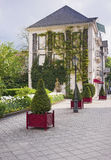 Small city park in Baden Baden Royalty Free Stock Photography