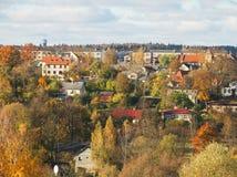 Small city. Royalty Free Stock Photos