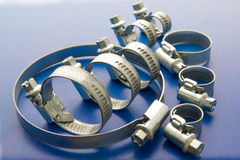 Small clamps Royalty Free Stock Photo