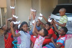 Small class in Kagiso Royalty Free Stock Photo
