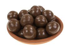 Chocolate candy balls Royalty Free Stock Photos