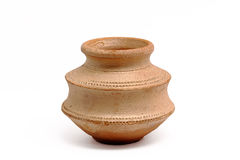 Small clay pot Stock Photos