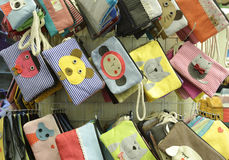 Small cloth bag Stock Images