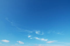Small clouds Stock Image