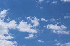 Small clouds havens new time Royalty Free Stock Photo