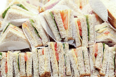 Small Club Sandwich Royalty Free Stock Image