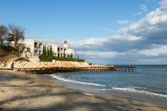 Small coastal hotel near Varna, Bulgaria Stock Photos