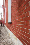 Small cobblestone streets Royalty Free Stock Image