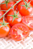 Small tomatoes Stock Photo