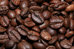Small coffee beans. Background made with coffee beans Royalty Free Stock Image
