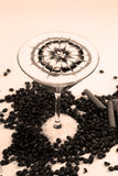 Small coffee cocktail Stock Photography