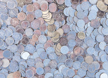 Small coins Stock Images