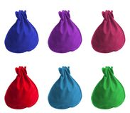 Small color bags Stock Photo