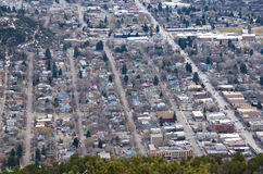 Small Colorado Town Stock Image