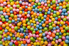 Small colored balls. Royalty Free Stock Photography