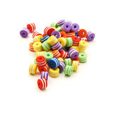Small colored beads Stock Image