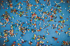 Small colored beads Royalty Free Stock Image