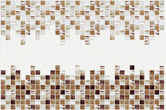 Small colored decorative tiles, mosaic Stock Photo