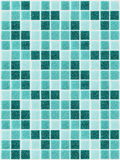Small colored decorative tiles, mosaic Stock Image