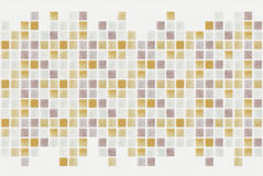 Small colored decorative tiles, mosaic Stock Photography