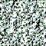 Small colored triangles geometric background. (vector eps 10 Royalty Free Stock Photos