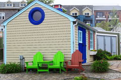 Small Colorful Beach House Royalty Free Stock Images