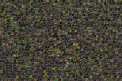 Small colorful mosaic tiles. Texture Stock Images