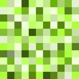 Small colorful squares Seamless UFO green square tiles pattern vector illustration