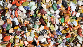 Small colorful stones Royalty Free Stock Photos