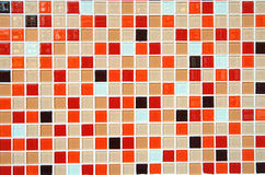Small colorful tile background Royalty Free Stock Photos