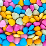Small colorfull candies Royalty Free Stock Image