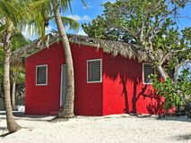 Small and Coloured Homes, Santo Domingo. Small and Coloured Homes on the Coast of Santo Domingo, Dominican Republic royalty free stock image