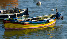 Small Colourful Boat Stock Photography