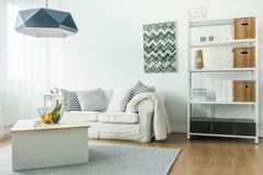 Small comfortable room Royalty Free Stock Photos