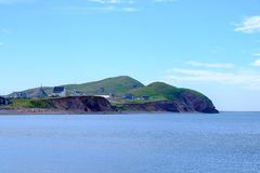Free Small Community On The Shores Of Les îles De La Madeleine Royalty Free Stock Image - 105340006