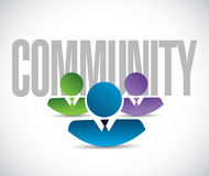 Small community team concept illustration Royalty Free Stock Image
