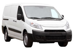 Small compact minivan. Stock Image