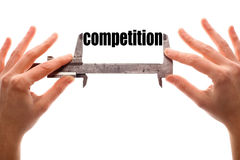 Small competition Royalty Free Stock Images