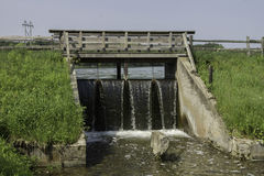 Small Concrete Dam Stock Image