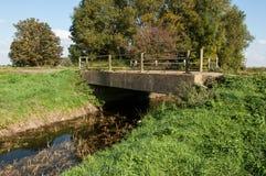 Small concrete road bridge Royalty Free Stock Image