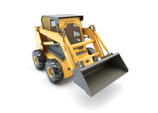 Small construction utility vehicle isolated Stock Photo