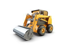Small construction utility vehicle isolated Royalty Free Stock Photography