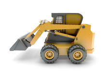 Small construction utility vehicle isolated Royalty Free Stock Photos