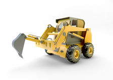 Small construction utility vehicle isolated Stock Image