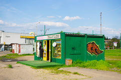 Small container shop Royalty Free Stock Image