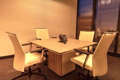 Small corporate conference room Royalty Free Stock Images