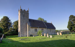 Small Cotswold church Stock Photography