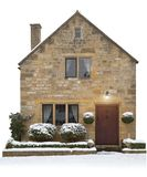Small Cotswold cottage, England Stock Images